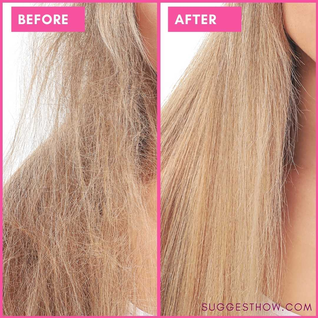 Before and After: 5 tips to Repair Bleached Damaged Hair