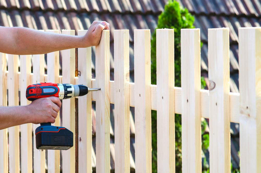 how to make a gate out of a fence panel