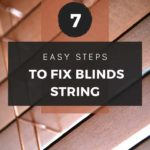 how to fix blinds string