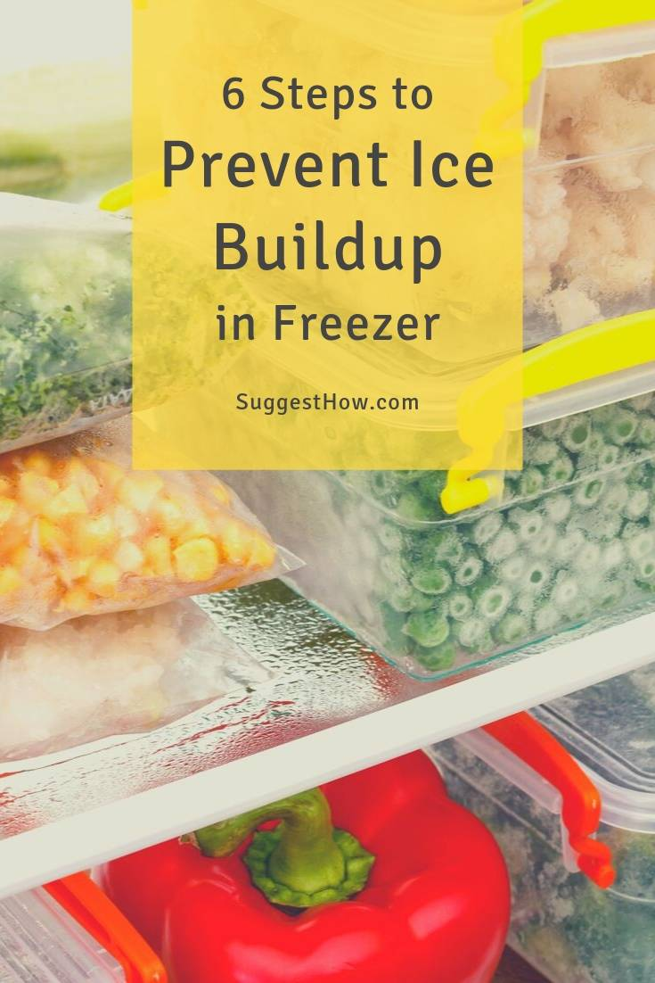 how to prevent ice buildup in freezer