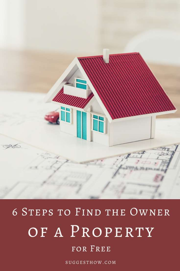 how to find the owner of a property for free