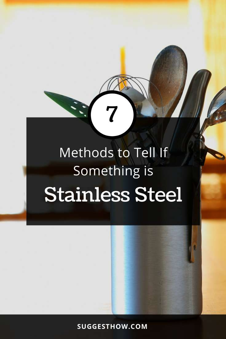 how to tell if something is stainless steel