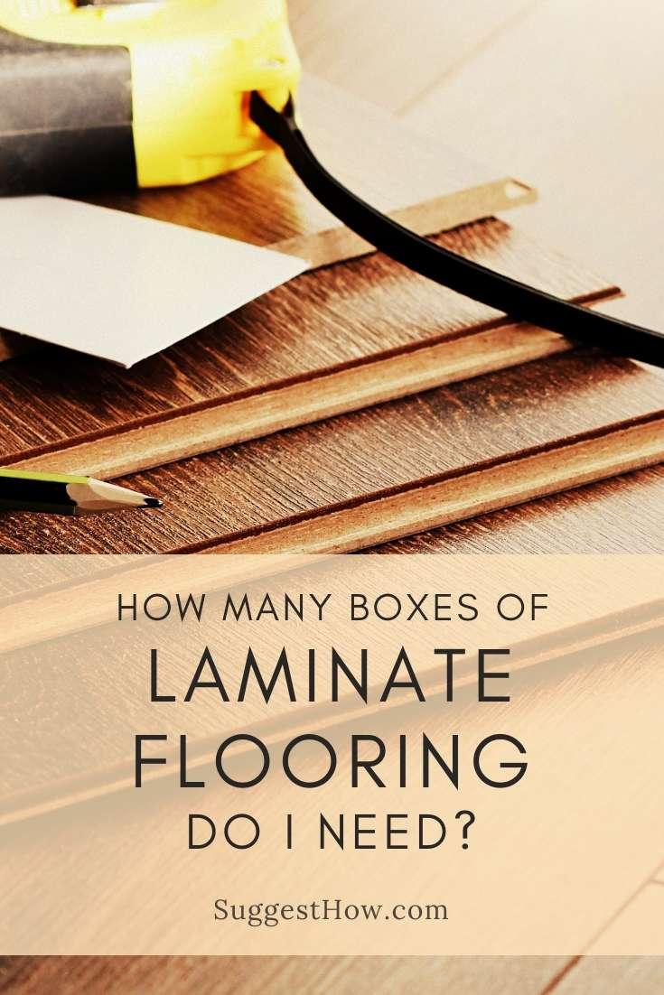 how many boxes of laminate flooring do i need