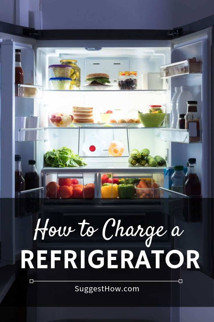how to charge a refrigerator
