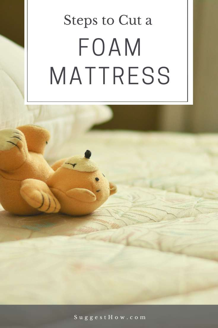 How To Cut Foam Mattress Straight