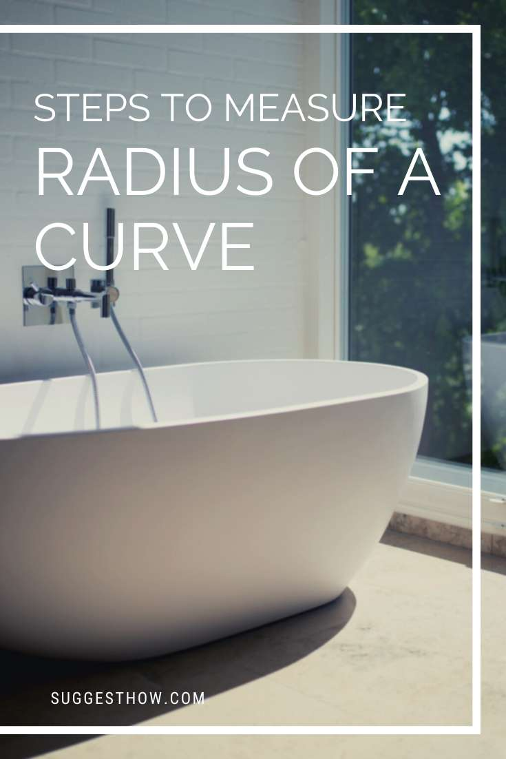 how to measure radius of a curve