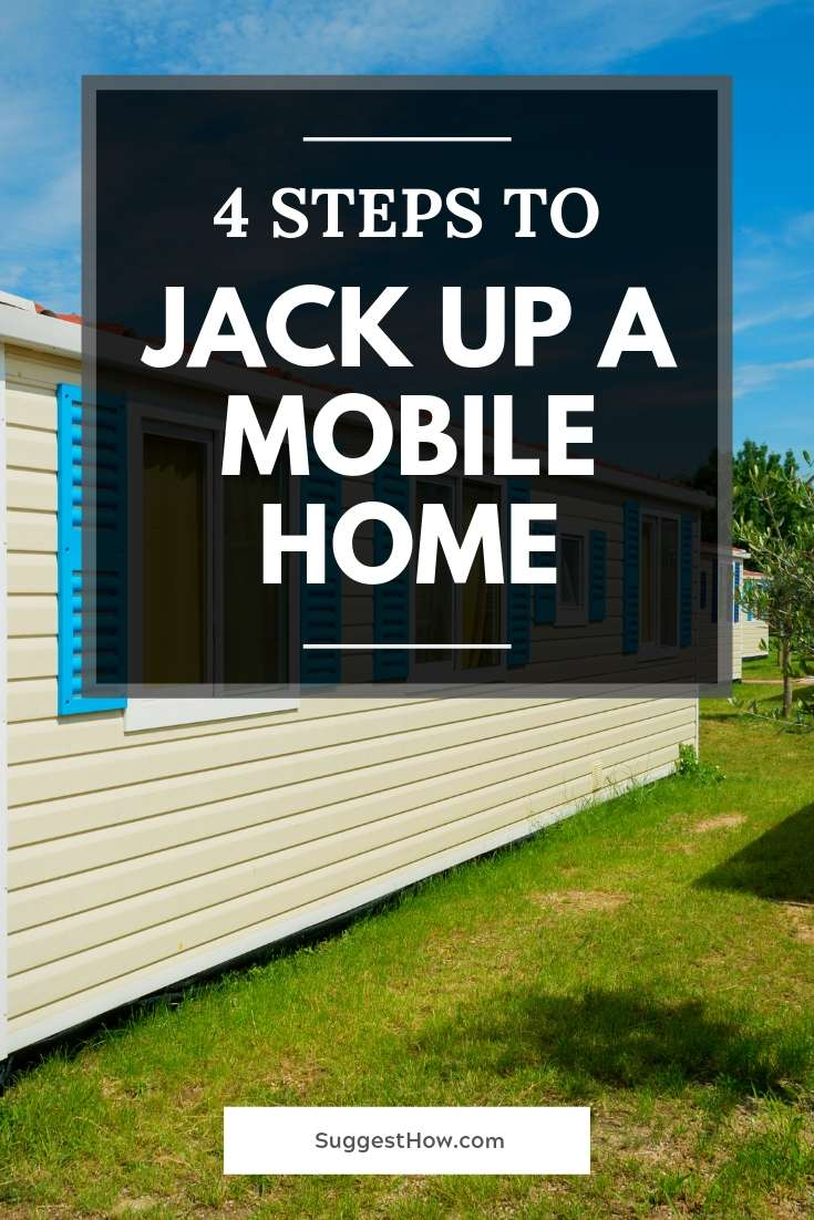 how to jack up a mobile home