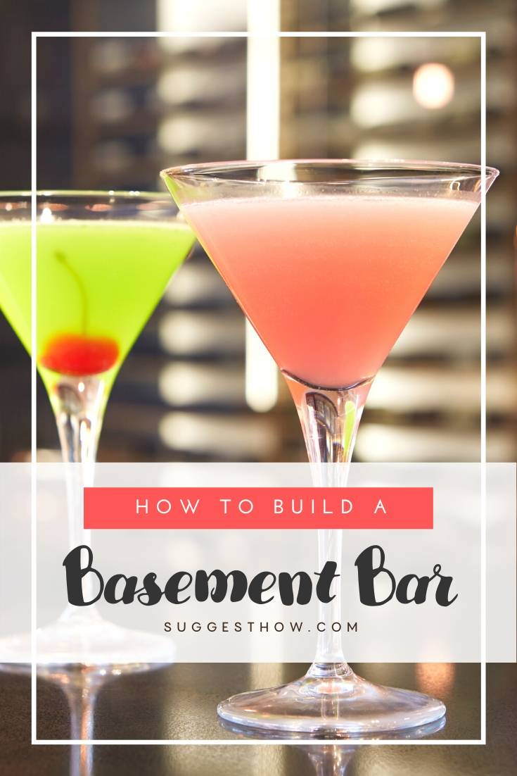 how to build a basement bar