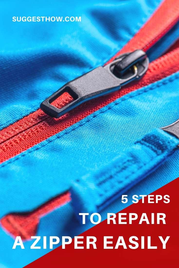 how to repair a zipper