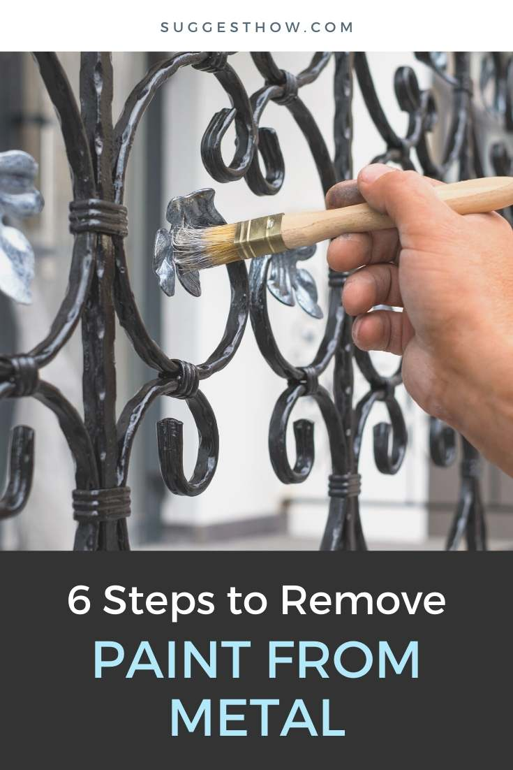 how to remove paint from metal