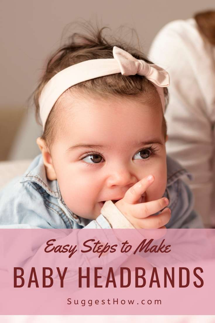 how to make baby headbands