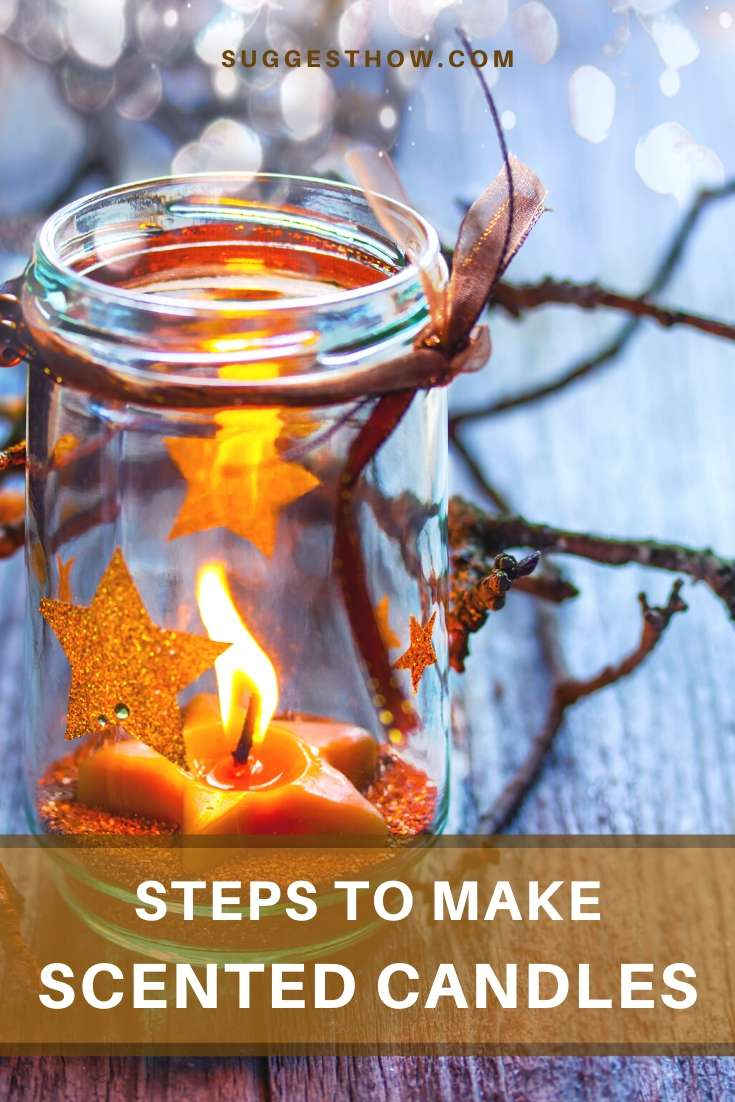 how to make scented candles