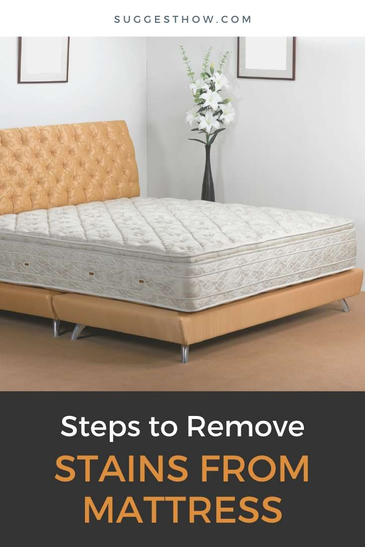 how to remove stains from mattress