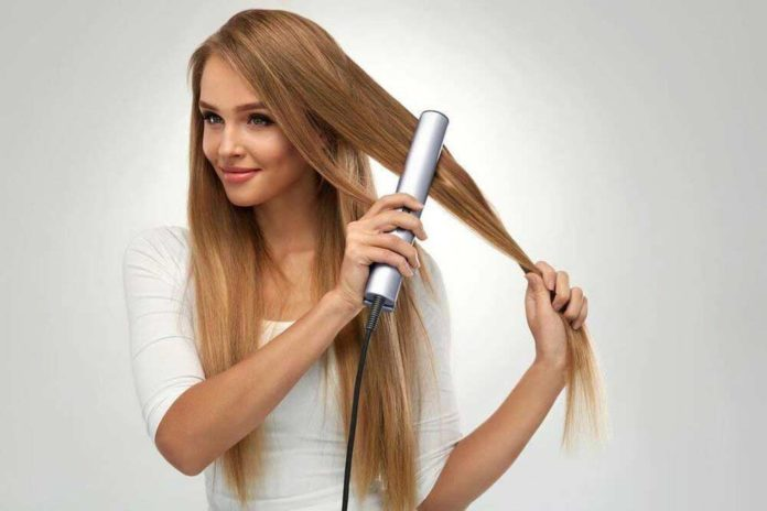 Steps to properly clean flat iron