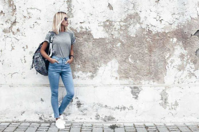 Tricks to distress jeans