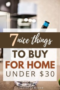 7 things to buy under $30 for home