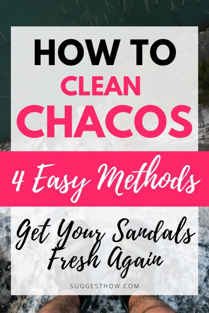 how to clean chacos