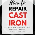 how to repair cast iron